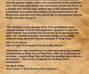 Shaolin Ancestors Sil Nim Tao back cover
