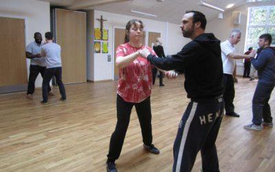 Women's Martial Arts Student