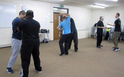 Wing Chun Class Woking