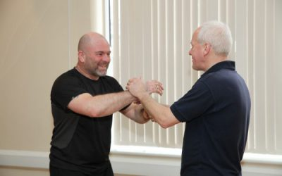 Students practicing Wing Chun
