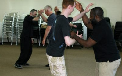 Martial Arts sparring Class in Woking